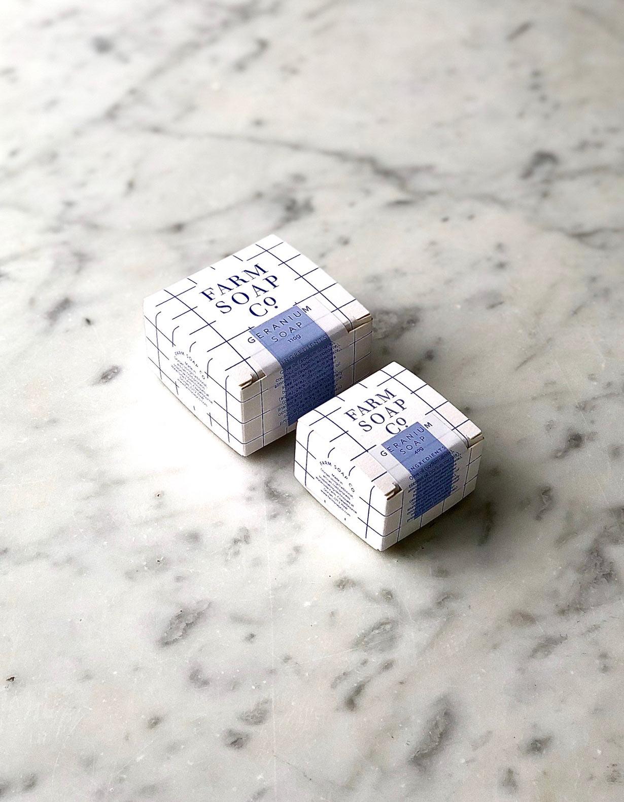 Farm Soap Co. - Geranium soap